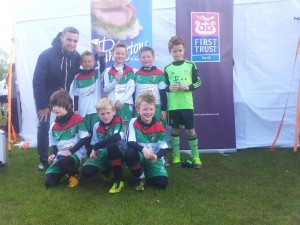 Glentoran under 9 winners