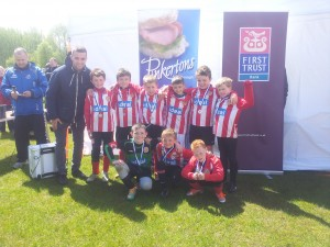 Sunnyside under9 runners up