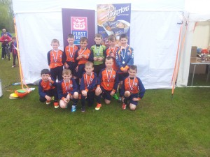 Windmill Stars Newry under10 ruuners up